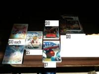 Wii & DS games are priced less than game stop sells