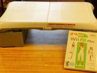 Great health condition WII Balance board and video