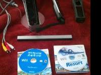 i am selling a wii console like new.hardly never