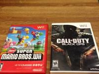 I am selling my Call of Duty Black Ops Wii video game