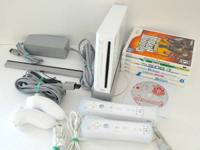 Wii Game set, still in very good condition, barely