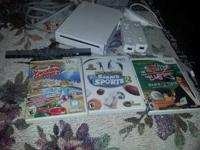 I am selling a Wii Game System, it has all the devices