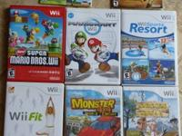Up for sale is a wii board and a wii console, with all