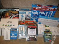 Wii GAME SYSTEM / Wii GAME SPORTS MOST OF IT IS BRAND