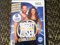 Brand new/ Never played Wii Biggest Loser Challenge Was