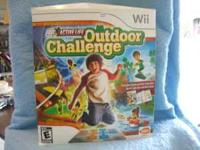 Wii Active Life Outdoor Challenge. $25 (Activity mat