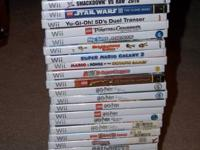 Wii Games. 28 Titles. Exceptional Condition! Mostly E