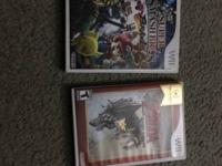 For sale Smash Brothers Brawl and The Legend Zelda