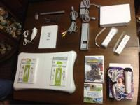 Like new complete Wii system plus more. Was adult