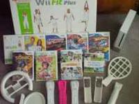 This is a very nice Wii with many extras. Comes with