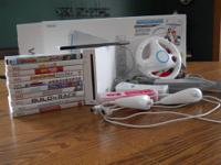 Hi, I am selling my wii system which is in excelent