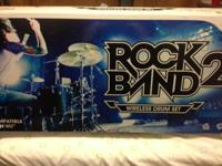 Selling our Rock Band 2 set. We can not discover the