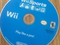 Up for a sale is a video game System: Nintendo Wii