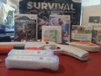 Wii Sports Console, Console Stand, Remote w/jackets,