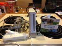 I am selling my Wii Sports console with white nunchuk,