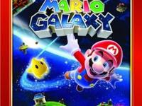 Become Mario as he traverses gravity-bending galaxies,