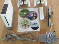 Used wii with all cords included, 1 wii controller