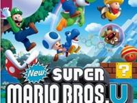 New Super Mario Bros. U is a new, side-scrolling