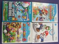 Selling several Wii U & Routine Wii Gamings. The video