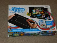 We are selling this BRAND NEW copy of u Draw for the