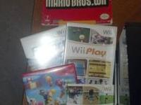 Items included in this sale are: 1 Black Wii Console 1