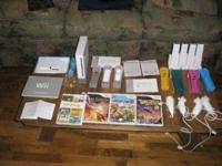 This package includes Shown in pics Sony WII with 4