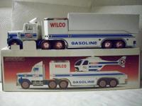 This is a Hess/Wilco truck in its original box, in new