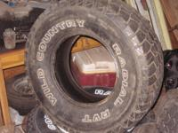 I have five 32X11.50 R15 wild country radial RVT tires.