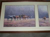 Extra Large artwork Wild Horse herd beautiful artwork