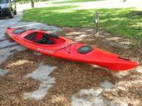 14 foot Wilderness Kayak with paddles. Excellent