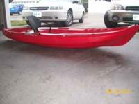 I have a 2009 Wilderness Systems Kayak for sale it is a