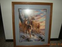 Varity of large wildlife prints for sale. $40.00