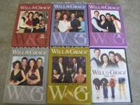 Will&Grace complete DVD seasons 3,5,6,7,8, and Season