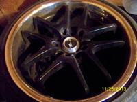 For sale, 4 Drifz Black 10 spoke wheels. 18 inch