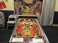 Williams 1972 Swinger Pinball Machine Needs Work &