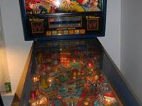up for sale today is my williams earthshaker pinball