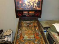 Good condition Williams Fire Pinball Machine.  This one