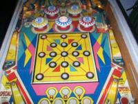 1966 Williams , pinball machine ,sports fishing theme ,