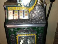 Elliet Ness didn't get this one, 5 cent Slot Machine !
