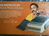 Willie Stargell Vintage Remington Black man's shaver