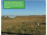 Williams County North Dakota Land for Sale. South 1/2