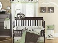 Includes 4 piece bedding set (dust ruffle, sheet, bed