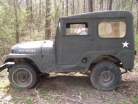 I bought this Jeep to use as my hunting camp vehicle