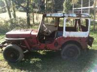 I have an old Willys jeep for sale for parts. I believe