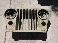 Willy jeep grill, not sure what year it is, early 50,s