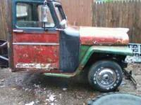 Willys truck. $700.00 OBO. Includes a fresh V-8 engine.