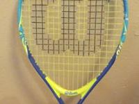 Wilson 19 inch Junior Tennis Racquet -- SpongeBob  Call