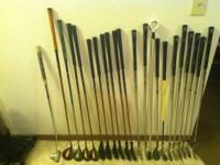 I am selling my wilson carbon fiber golf clubs. i