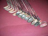 Wilson Sam Sneed Golf ClubsThese Vintage clubs have
