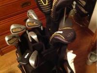 I'm selling a basic set of Wilson Golf clubs. It's a
